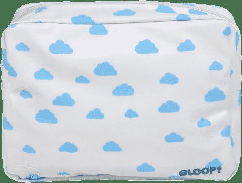 GLOOP Toaletná taštička Blue Clouds