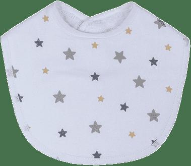 GLOOP Bryndák z organické bavlny Stars (2ks)