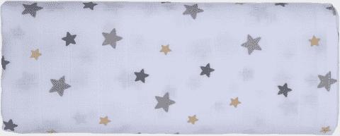 GLOOP mušelínové plienka 100x100 Stars (2ks)