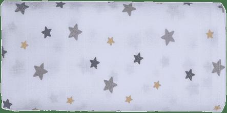 GLOOP Pieluszka muślinowa 70x70 Stars (2 szt.)