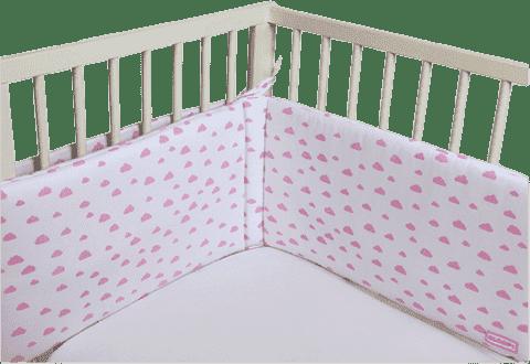 GLOOP Ochraniacz na łóżeczko Pink Clouds