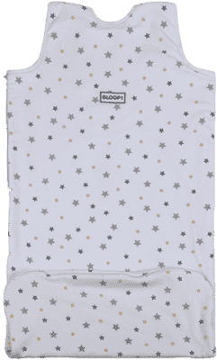 GLOOP Śpiworek do łóżeczka z organicznej bawełny 6 - 36 miesięcy Stars