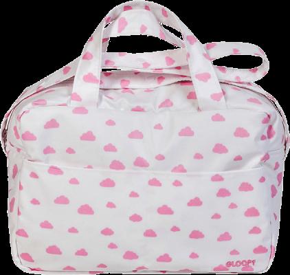 GLOOP Prebaľovacia taška Pink Clouds