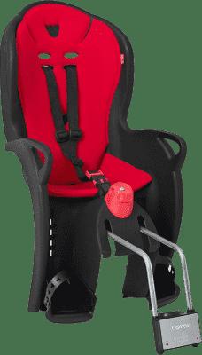 HAMAX Fotelik rowerowy Sleepy Black/Red
