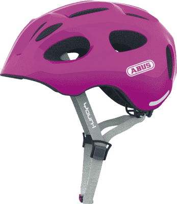 FIRST BIKE Helma ABUS YOUN-I sparkling - pink, M