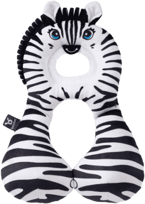 BENBAT Nákrčník s opěrkou hlavy 1-4 roky - zebra
