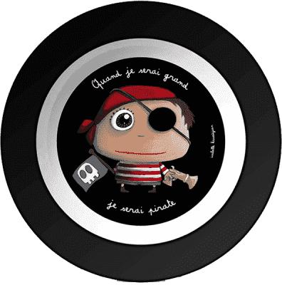 LABEL TOUR Talerzyk na zupę Pirat