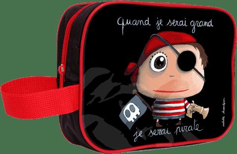 LABEL TOUR Toaletní taška Pirát