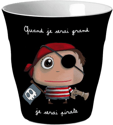 LABEL TOUR Hrnček Pirát