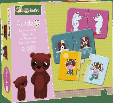 AVENUE MANDARINE Duo puzzle Protiklady 12 ks