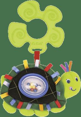 K´S KIDS Hračka na kočárek - chrastící želva