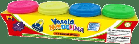 KID'S Dough Ciatolina 4 Szt. NEON 4 x 140g
