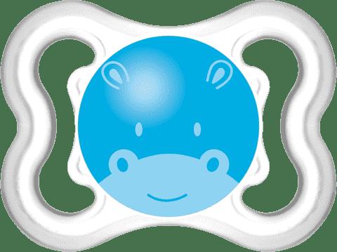 MAM Dudlík Air 0-6m silikonový kluk – náhodný motiv