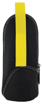 MAM Pokrowiec termiczny na butelkę Fashion, styl czarno-żółty