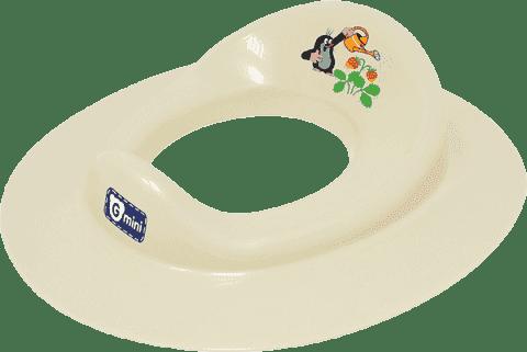 G-MINI Adaptér na WC Krtek a jahoda, smetanová