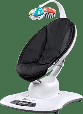 4MOMS NEW mamaRoo® Lehátko Bluetooth - Classic black