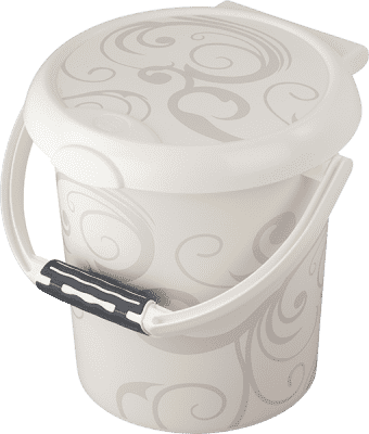 ROTHO® Kosz na pieluszki Vintage White