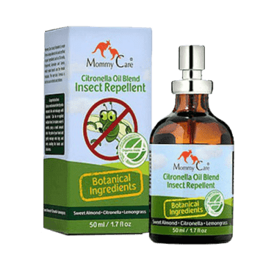 MOMMY CARE Summer and Sun Mosquitoes- Natural Insect Repellent - Prírodné a ekologický repelent 50 m