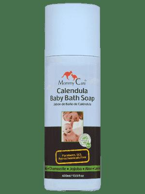 MOMMY CARE Calendula Baby Bath Soap - Tekuté mýdlo z měsíčku lékařského 400ml