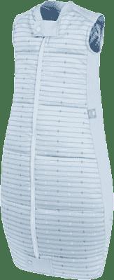 ERGOPOUCH Organic Cotton - Śpiwór Blue Stars&Stripes 2-12 m