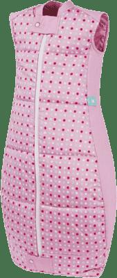 ERGOPOUCH Organic Cotton - Spací pytel Pink Polka Dots 12-36 m