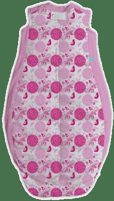 ERGOPOUCH Organic Cotton - Spací pytel Sweet garden Pink 12-36m