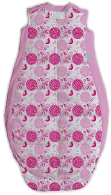 ERGOPOUCH Organic Cotton - Spací vak Sweet garden Pink 2-12