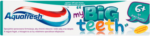 AQUAFRESH My Big Teeth (50ml) – detská zubná pasta