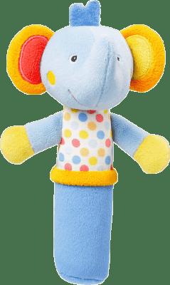 NUK Pool Party Piszcząca zabawka do rączki – słonik