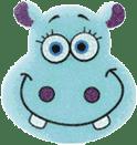 OSMOST Wesołe gąbeczki - Hipopotam Kuba