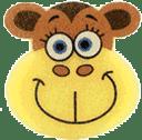 OSMOST Wesołe gąbeczki - Małpka Bara