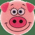 OSMOST Wesołe gąbeczki - Świnka Pegy