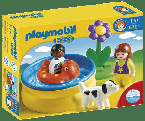 PLAYMOBIL Dzieci z basenem ogrodowym