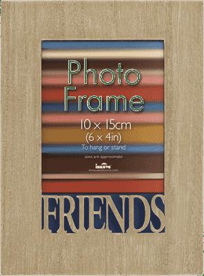 FOTORAMKA z napisem FRIENDS na fotografię 10 x 15 cm