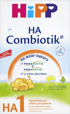 HIPP Mleko początkowe HIPP 1 HA Combiotik (500g)