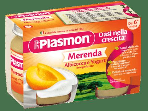PLASMON Jogurt Marhuľový 2x120g