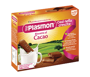 4x PLASMON Kakaové sušienky 75g