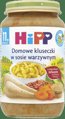 HIPP Domowe kluseczki w sosie warzywnym BIO (220g)
