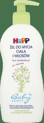 HIPP Żel do mycia ciała i włosów 400 ml