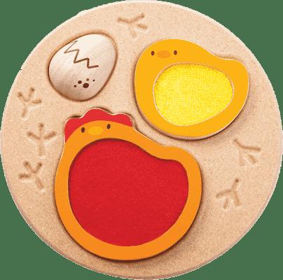PLAN TOYS Cykl życia kurczaka
