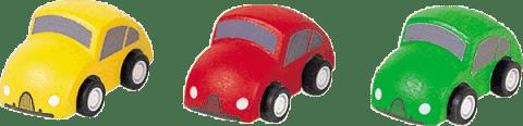PLAN TOYS Autá (k autodráhe)