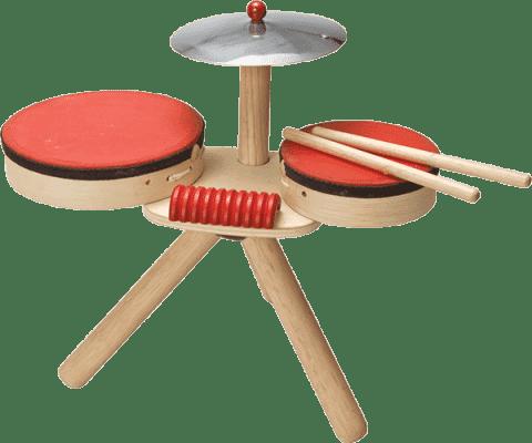 PLAN TOYS Drewniana perkusja