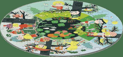 AVENUE MANDARINE Veľké puzzle Ročné obdobia 40 ks