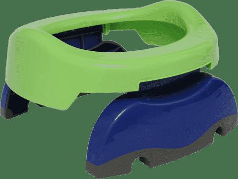 POTETTE PLUS 2v1 Cestovný nočník / Redukcia na WC - zelená / modrá