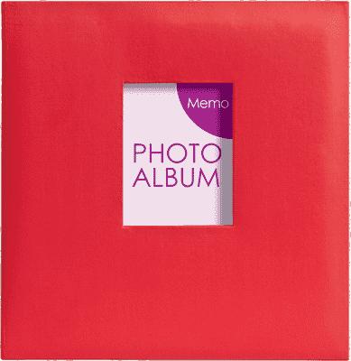 FOTOALBUM červený Festival pre 200 fotografií 10x15 cm