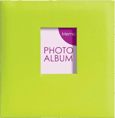 FOTOALBUM zelený Festival pre 200 fotografií 10x15 cm