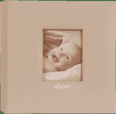 FOTOALBUM różowy Love Baby z miejscem na opis na 200 fotografii 10 x 15 cm