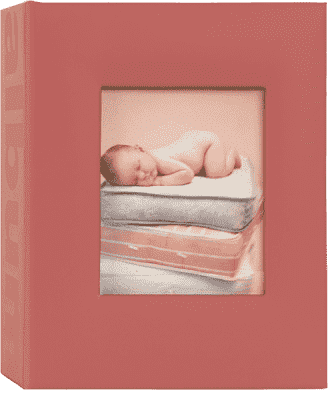 FOTOALBUM červené Love Baby pro 100 fotografií 10x15 cm