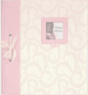 FOTOALBUM ružový Baby Traditional - album na rôžky
