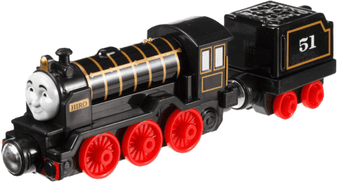 FISHER-PRICE Thomas & Friends Take-N-Play Duża lokomotywka Ast. Hiro
